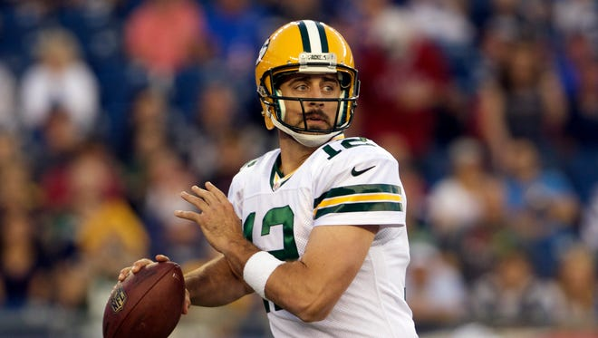 Despite WR injuries, Aaron Rodgers and Packers figure to be there at the end.