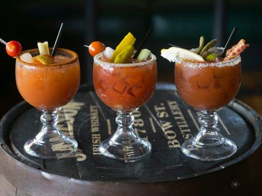 Bloody Mary Bar at Arcadia Tavern