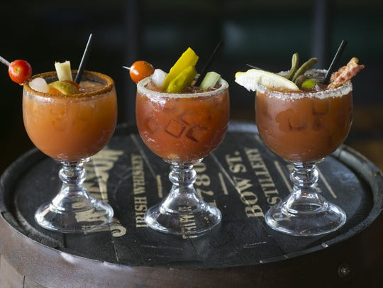 Bloody Marys at the Arcadia Tavern in Phoenix.