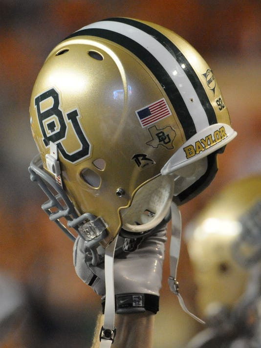 USP NCAA FOOTBALL: BAYLOR AT TEXAS S FBC USA TX