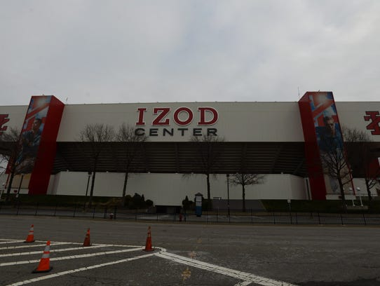 The Izod Center has occasionally been used for rehearsals
