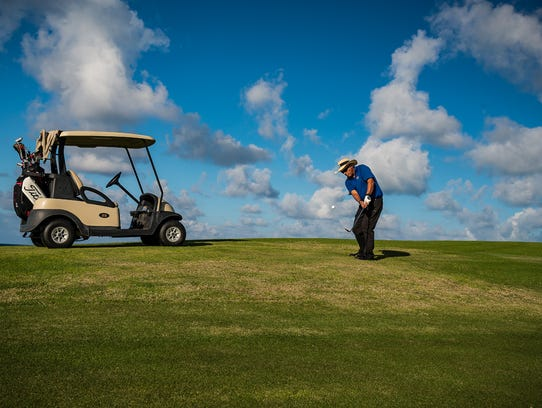 Varadero Gulf Club in Cuba is the country's only 18-hole