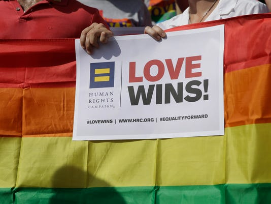 AP SUPREME COURT GAY MARRIAGE TEXAS A FILE USA TX