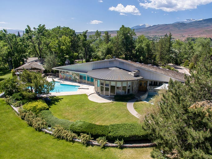 The 5-acre Gunnerman estate atop Windy Hill features
