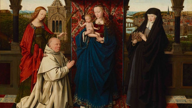 Jan van Eyck's Virgin and Child with Saints and Donor (1441-43)