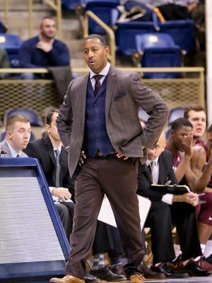 Montana head coach Travis Decuire.