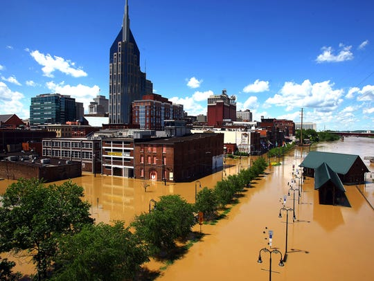 The Tennessean was recognized as a Pulitzer Prize finalist for breaking news coverage of the May 2010 flood.