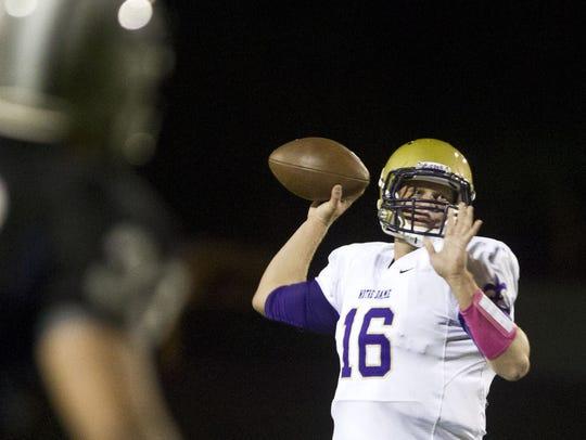 Ex-Scottsdale Notre Dame Prep quarterback Nick Duckworth