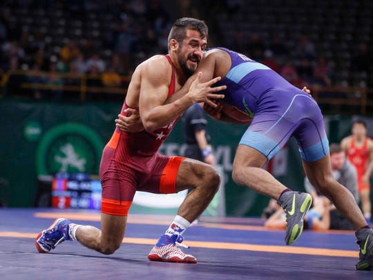 Northern Iowa graduate and Clear Lake native Joe Colon is currently ranked No. 2 in the world at 61 kilograms (134 pounds) by United World Wrestling.