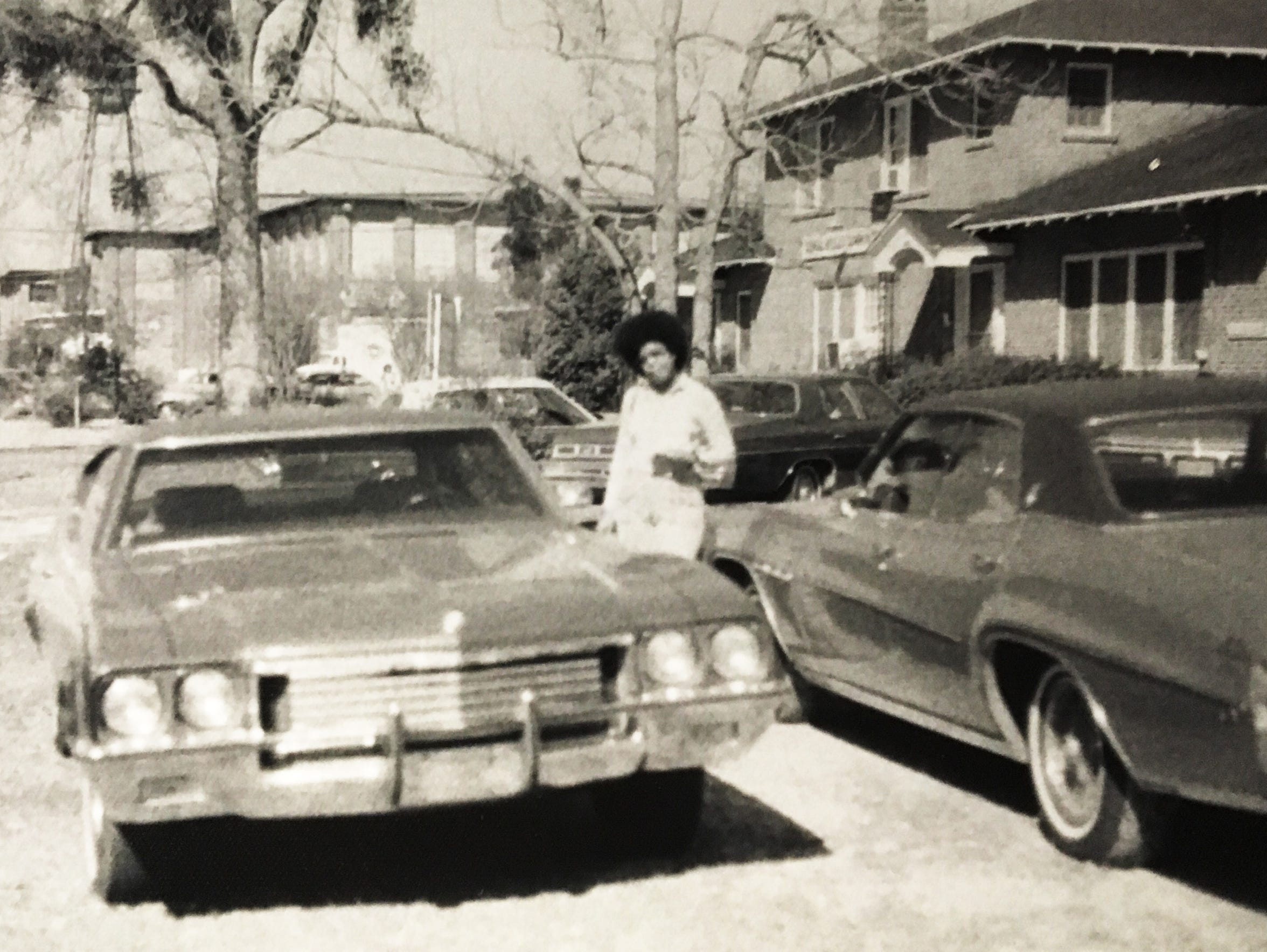 Clara Ester in Mobile in 1970 in impoverished Crichton