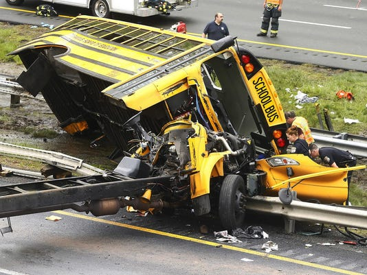 School Bus Dump Truck Crash (3)