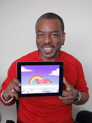 """Talking Your Tech  Actor Levar Burton has brought the old PBS """"Reading Rainbow"""" show back to life as an iPad app. Now he's raised $1 million to expand the former television show."""