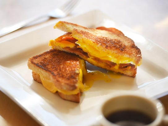 The Pedro grilled cheese sandwich at Cyndia's in Totowa.