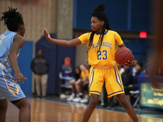 TCC guard Juliunn Redmond is averaging 16.3 points, 5.6 rebounds and 5.2 assists this season for the undefeated Eagles.
