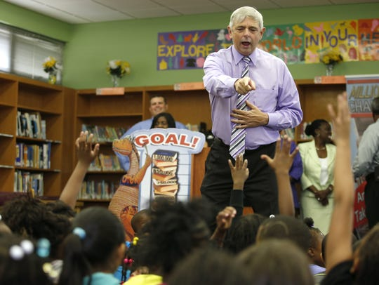 Superintendent Jackie Pons.