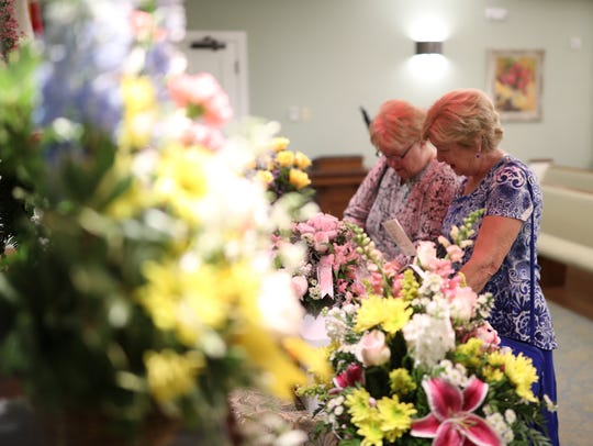 A funeral service for Baby Jane Doe, the newborn who