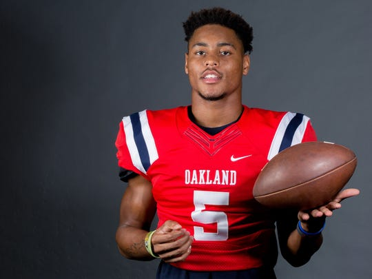 Senior defensive back and Oklahoma commitment Woodi Washington will be one of the leaders of the Oakland defense in 2018.