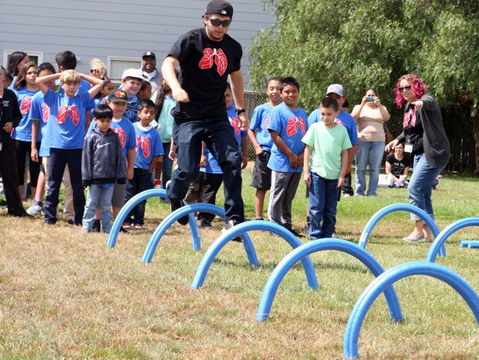 32nd Asthma Camp at Lincoln Elementary School, Salinas