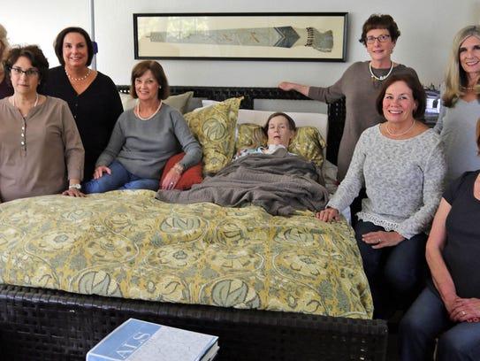 From left: Suzie Warmus, Sandy Sachse, Mary Jo Vollrath,