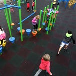 Children play during recess at Grant Elementary School in Salem on Thursday, Feb. 4, 2016. The American Heart Association is partnering with the Salem-Keizer School District to implement a new heart-healthy initiative over the next year.