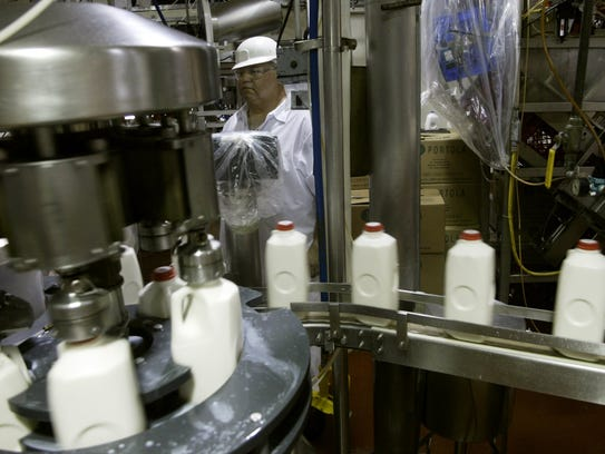 While feed costs remain low, milk prices are down nearly 20% from a year ago, squeezing margins on U.S. dairy farms.