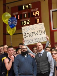 Elco High School head wrestling coach Chad Miller,
