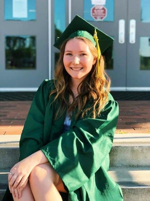 Rebekah Kendal Moss, valedictorian of the Aiken High School Class of 2020, will attend USC with plans of going into the medical field.