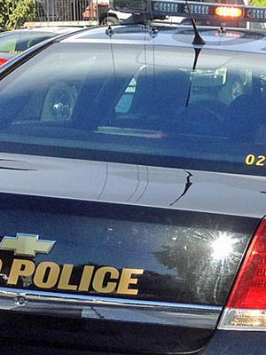 The Reno Police Department is investigating an incident where the driver of a car crashed into a Wells Fargo bank building in Reno on Tuesday, August 16, 2016.
