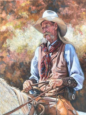 """""""Still Riding"""" by Victor Blakely."""