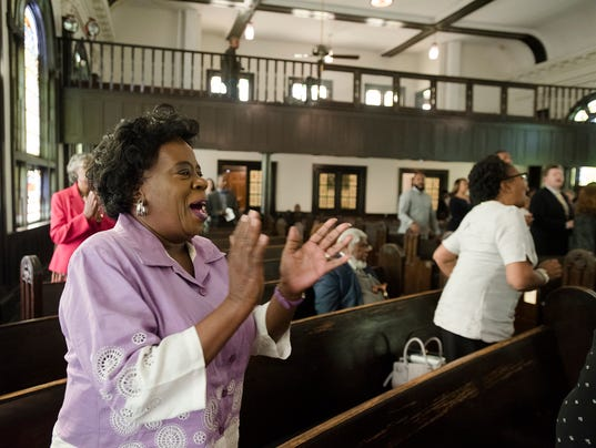 Old Ship A.M.E. Zion Church holds service of Remembrance, Restoration and Renewal
