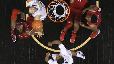 A poll of Big Ten Conference beat writers ranked Purdue men's basketball 11th entering the 2014-15 season.