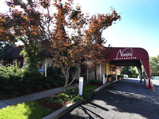 Exterior photo of Nanni Ristorante in Rochelle Park on 10/17/18.