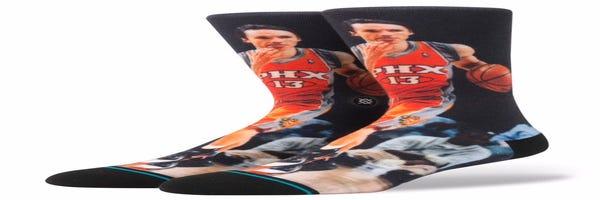 Suns to wear these amazing Steve Nash socks