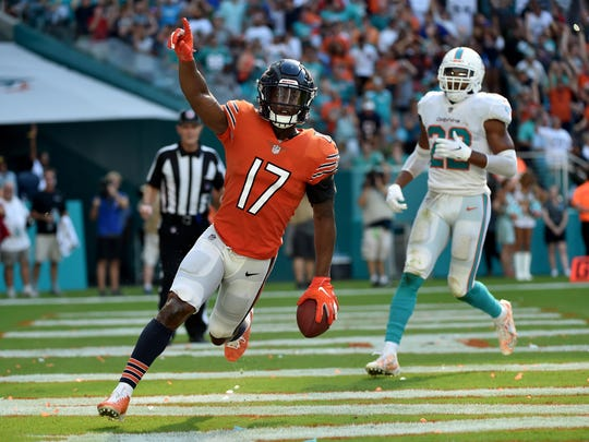Wide receiver Anthony Miller is entering his second season with the Bears.