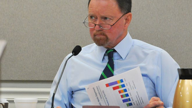 Brevard County Commissioner Jim Barfield introduced the proposal for a special county program to help residents affected by Hurricane Irma. The proposal was approved by a 4-1 vote.
