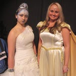 """Starring in the Endicott Performing Arts Center production of """"The Snow Queen"""" are, from left, Gavin Bowers (Kay), Jessica Kennis (Snow Queen), Stefanie Jump (Sun Queen) and Katie Hibbard (Gerda)."""