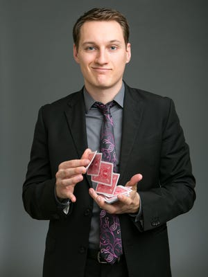 Magician Nick Paul performs Nov. 10 in Sayre.