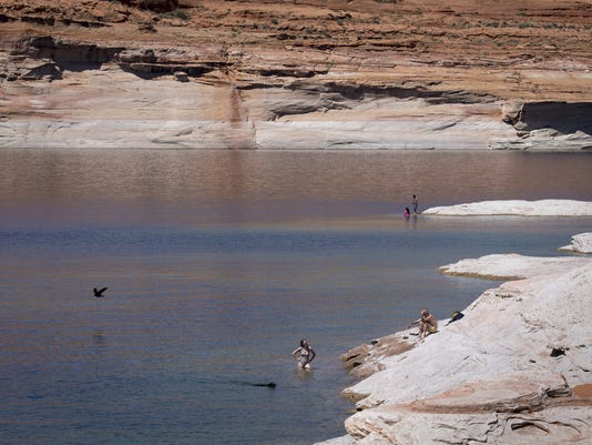 lake powell page horseshoe