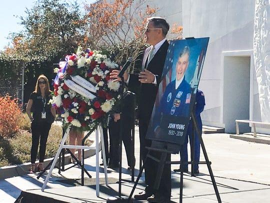 Kennedy Space Center Director Bob Cabana shared memories