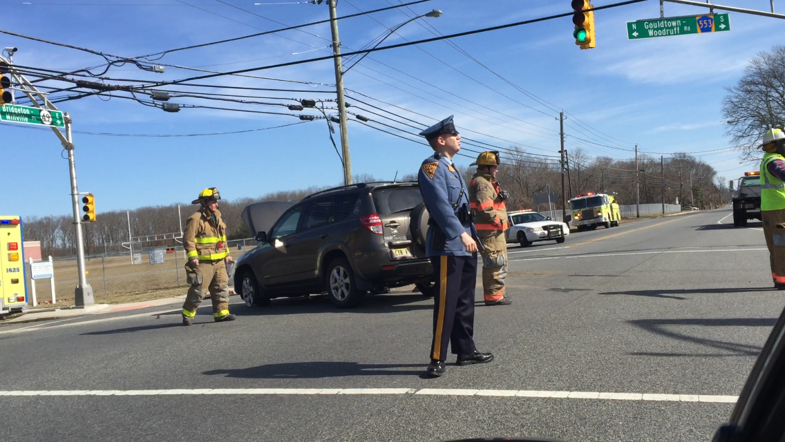 Millville Driver Hurt In Collision With Dump Truck
