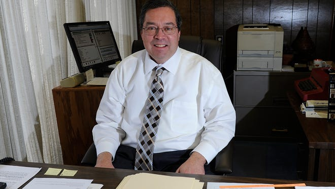 John Riggins recently took over as president of the Abilene Better Business Bureau.