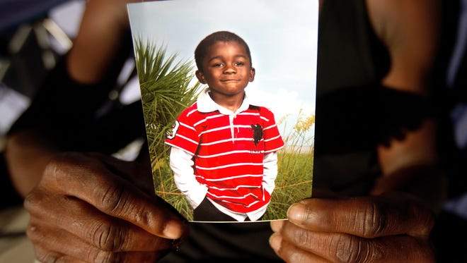 Andrew Faust Jr., 5, was killed in a drive-by shooting in 2014.