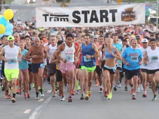 The 30th Annual Tram Road Challenge in Palm Springs, California.