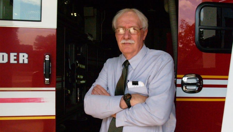 South Burlington Fire Chief Doug Brent, on Friday,