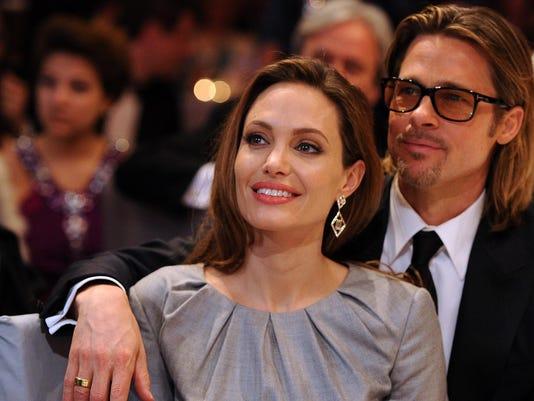 (FILE) Angelina Jolie Files For Divorce From Brad Pitt