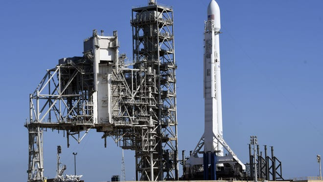 SpaceX may launch a Falcon 9 rocket from the Kennedy Space Center on Wednesday.