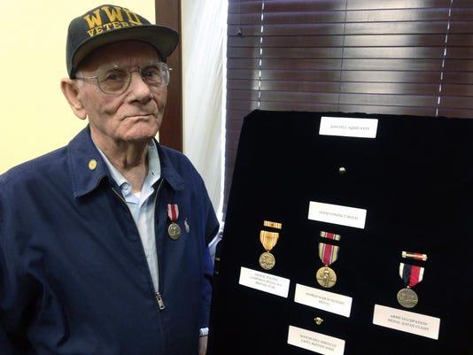 WWII Veteran Medals