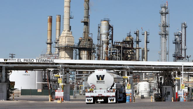 Western Refining operates an oil refinery in East Central El Paso.