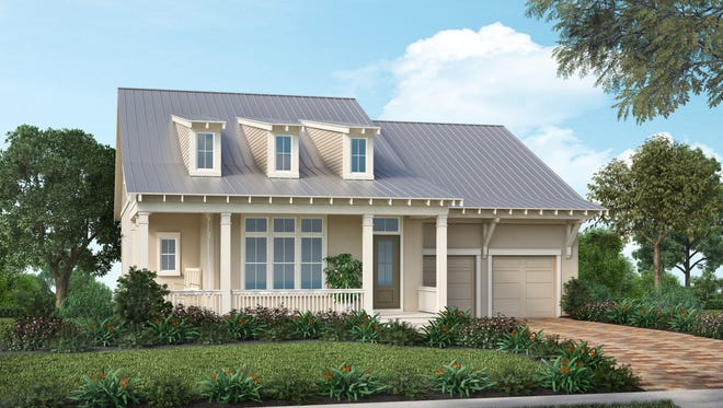 Stock's Bartow furnished model is open in the Lake Timber neighborhood at Babcock Ranch basepriced at $439,990.