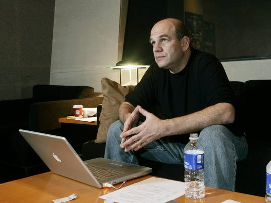 David Simon works on additional dialogue recording